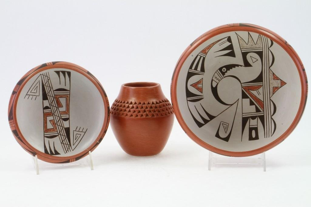 Three Hopi vessels - 3
