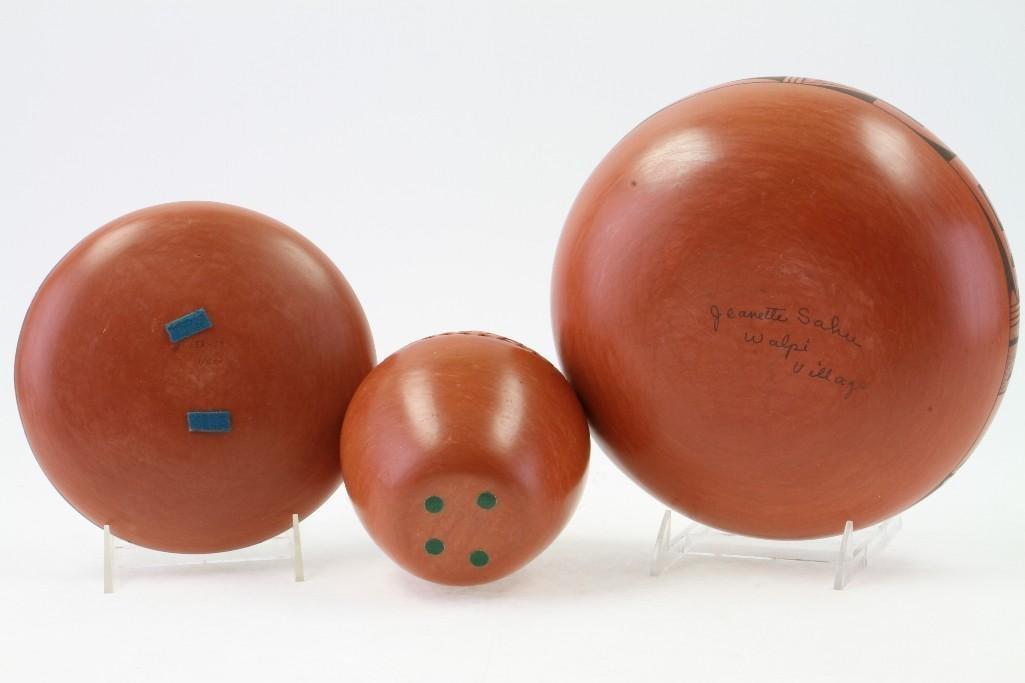 Three Hopi vessels - 4