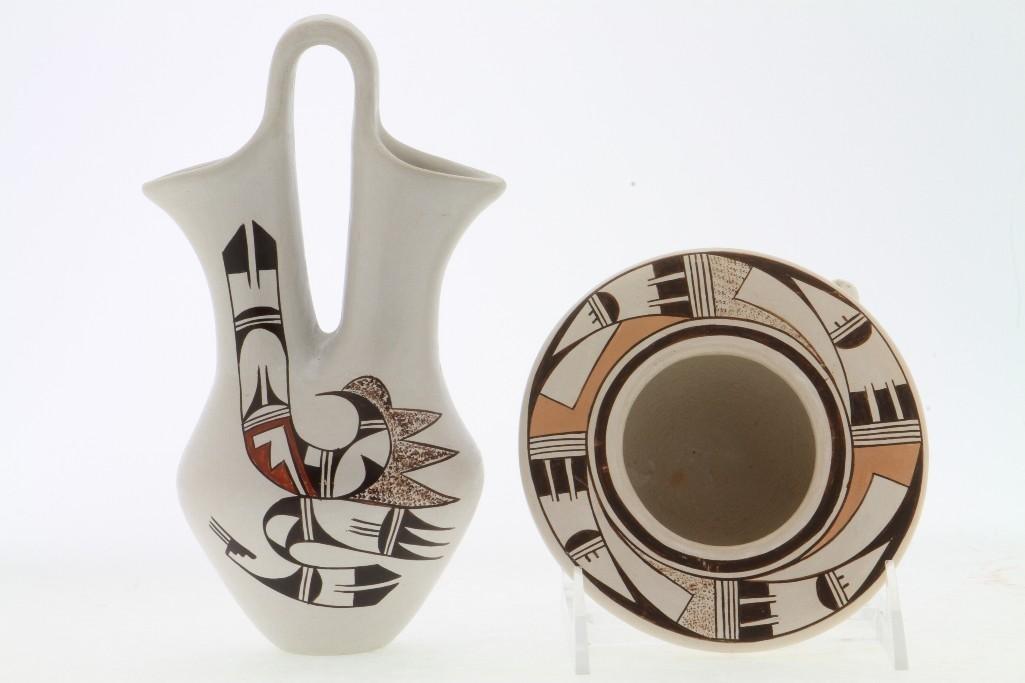 Two Hopi polychrome vessels - 3