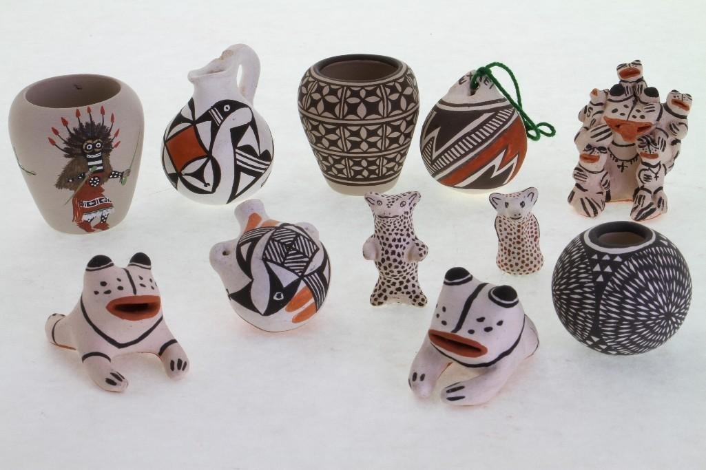 Eleven Southwest miniatures