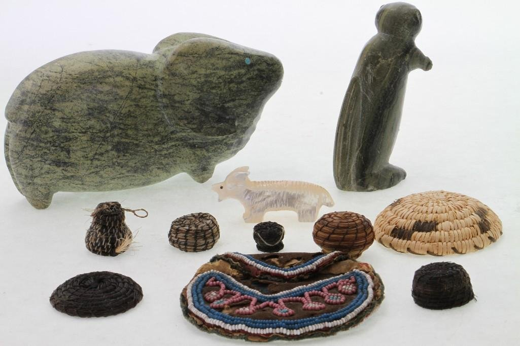 Group of Native American items - 2