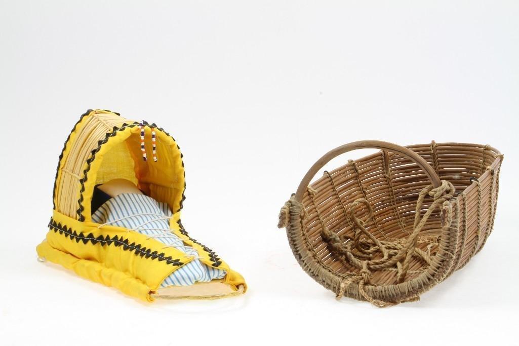 Two Western cradles