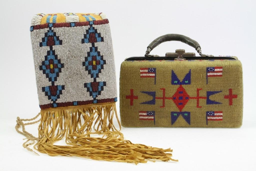 Two beaded items - 2