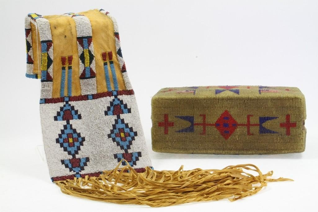 Two beaded items - 6