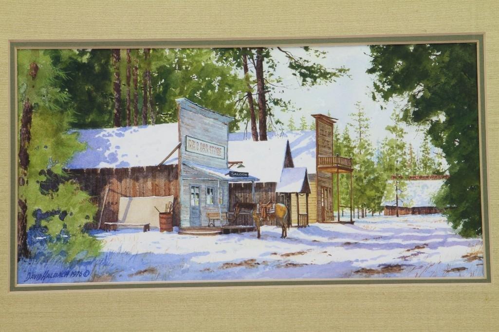 David Halbach watercolor - 2
