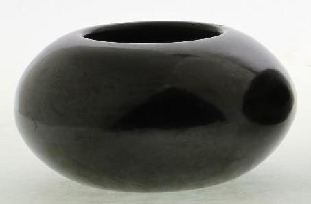 San Ildefonso blackware bowl - 2