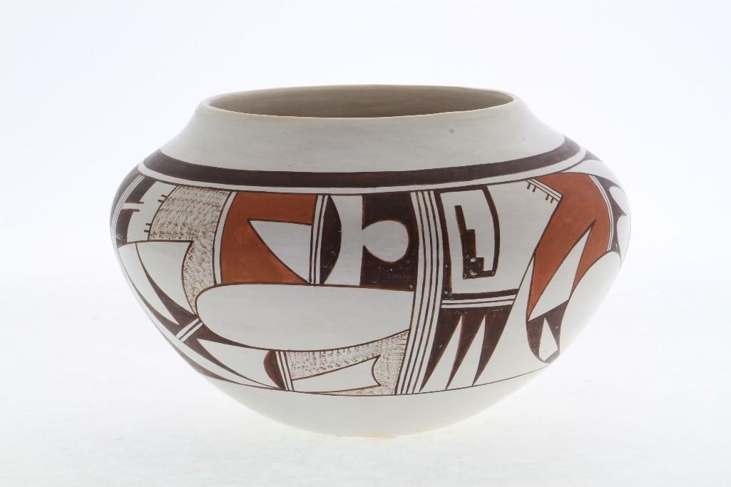 Hopi polychrome jar - 4