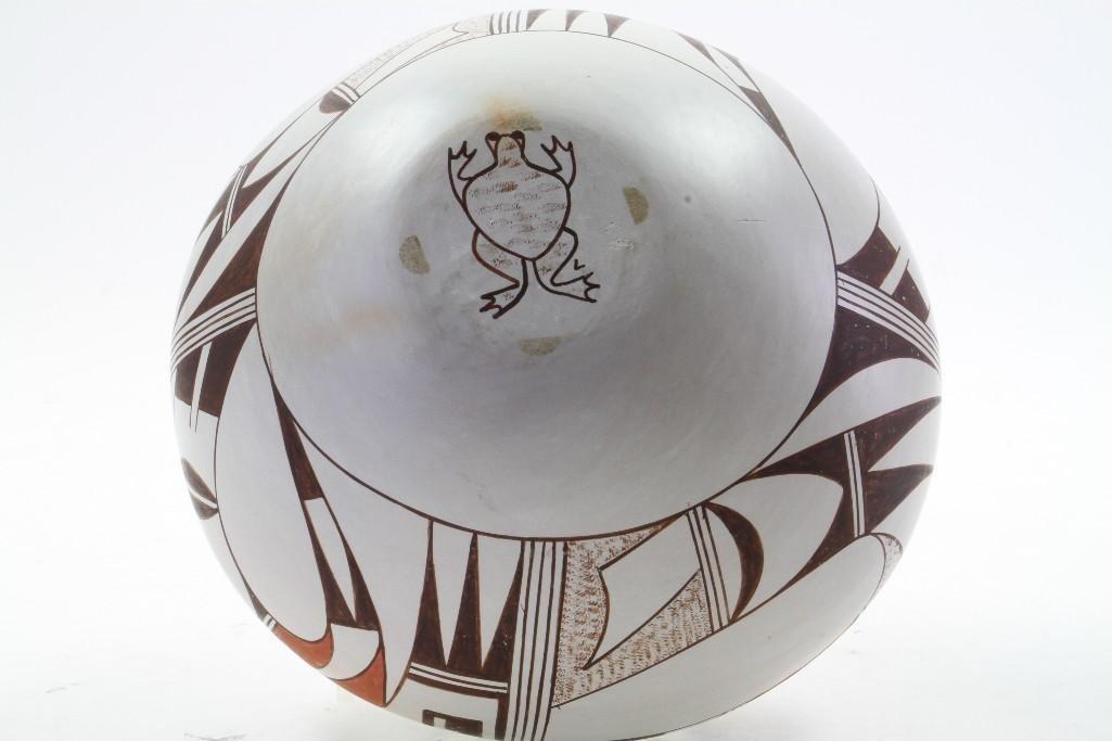 Hopi polychrome jar - 6