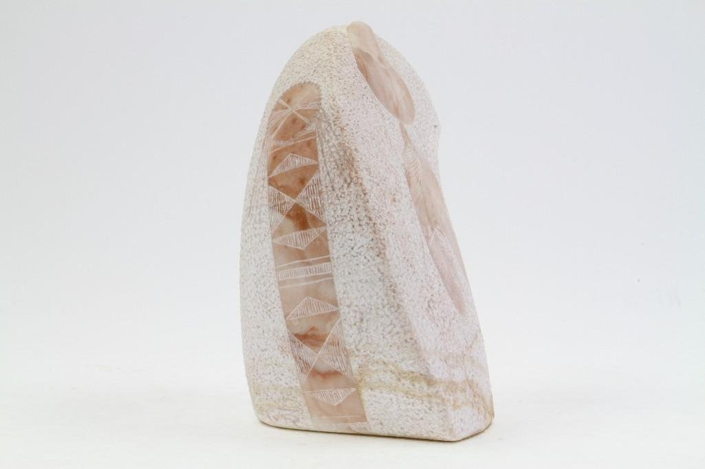 Native American alabaster sculpture - 4