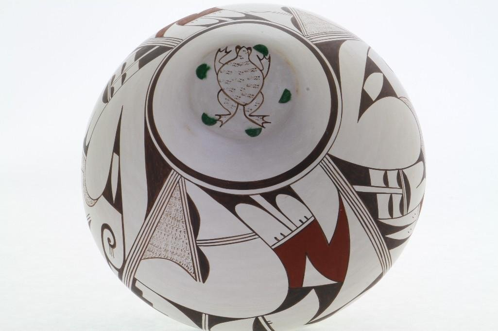 Hopi polychrome jar - 4