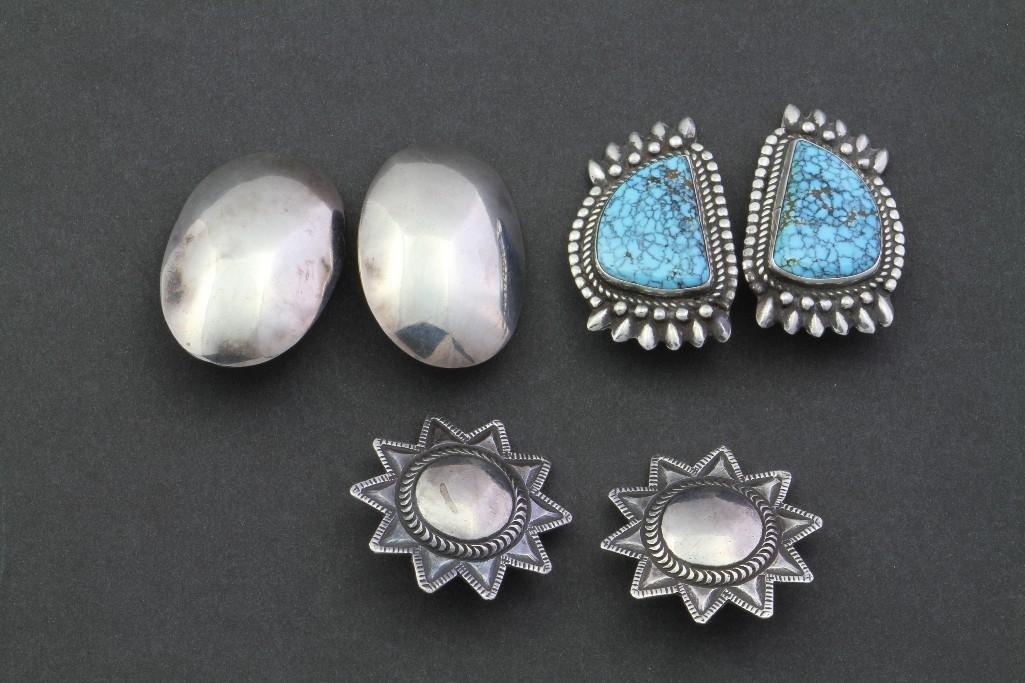 Three pairs of Southwest earrings - 2