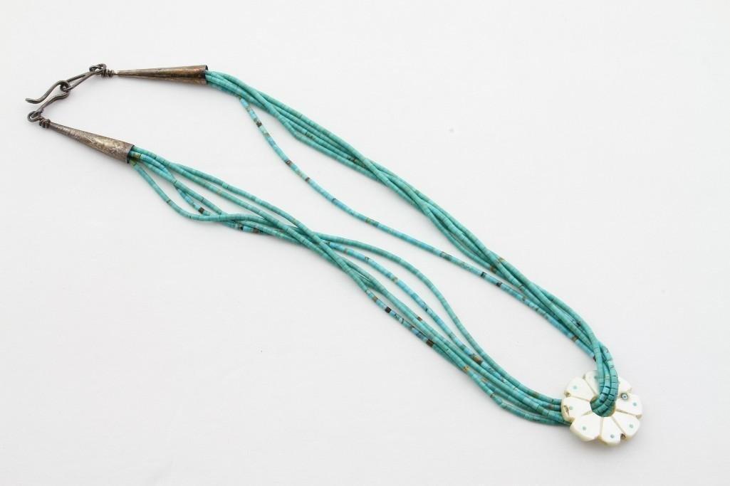Santo Domingo heishi necklace - 2