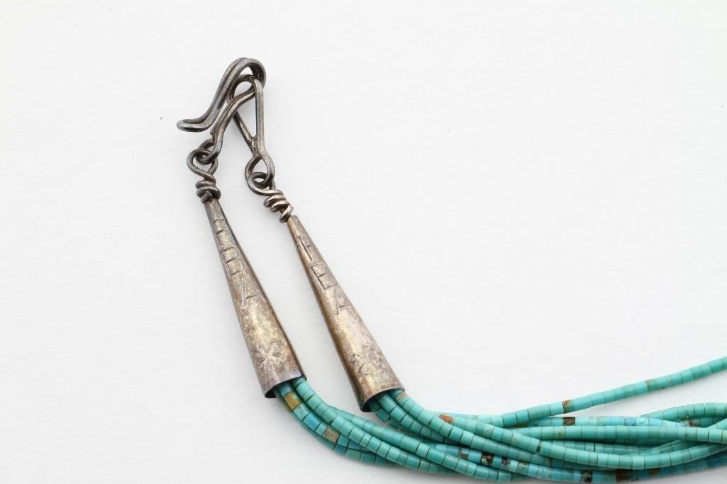 Santo Domingo heishi necklace - 3
