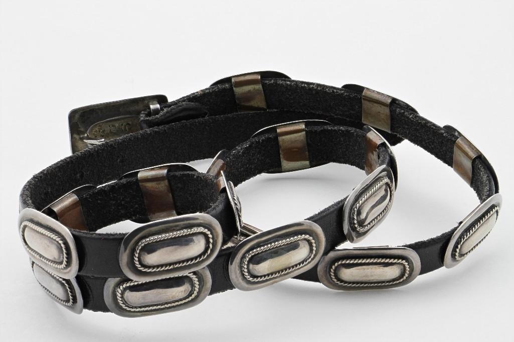 Cochiti concha belt - 2
