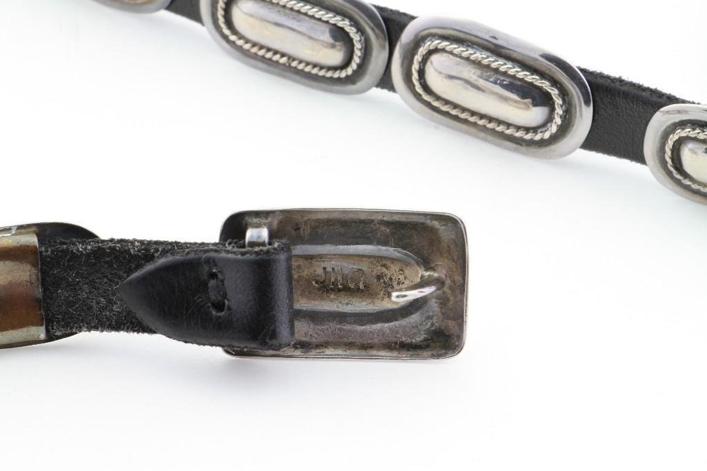 Cochiti concha belt - 3