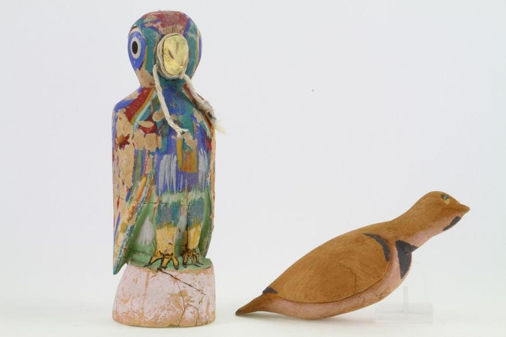 Two Hopi bird effigies - 2