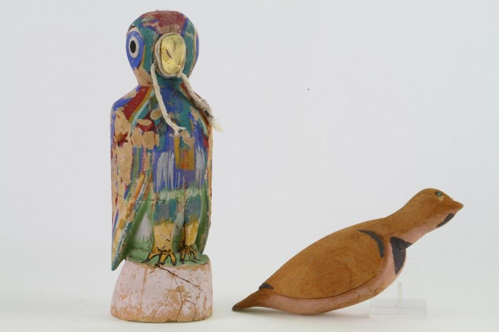 Two Hopi bird effigies - 3