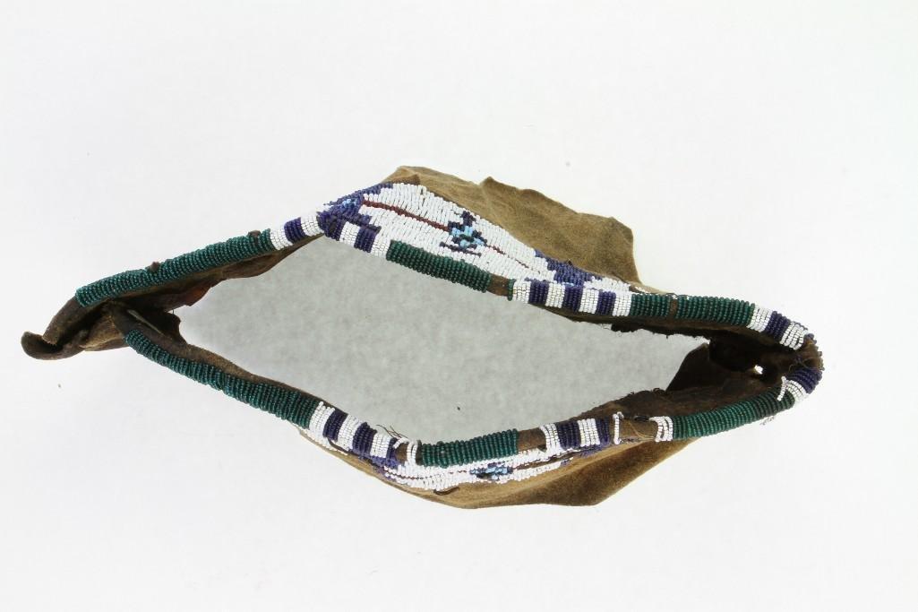 Cheyenne beaded model cradle cover - 4