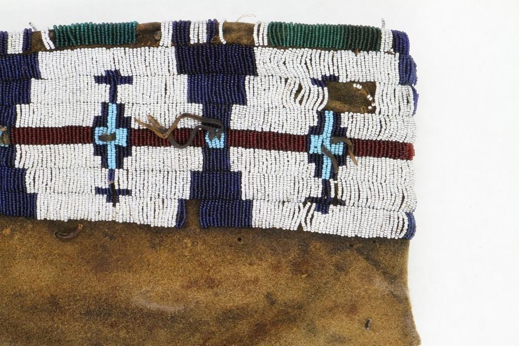 Cheyenne beaded model cradle cover - 6