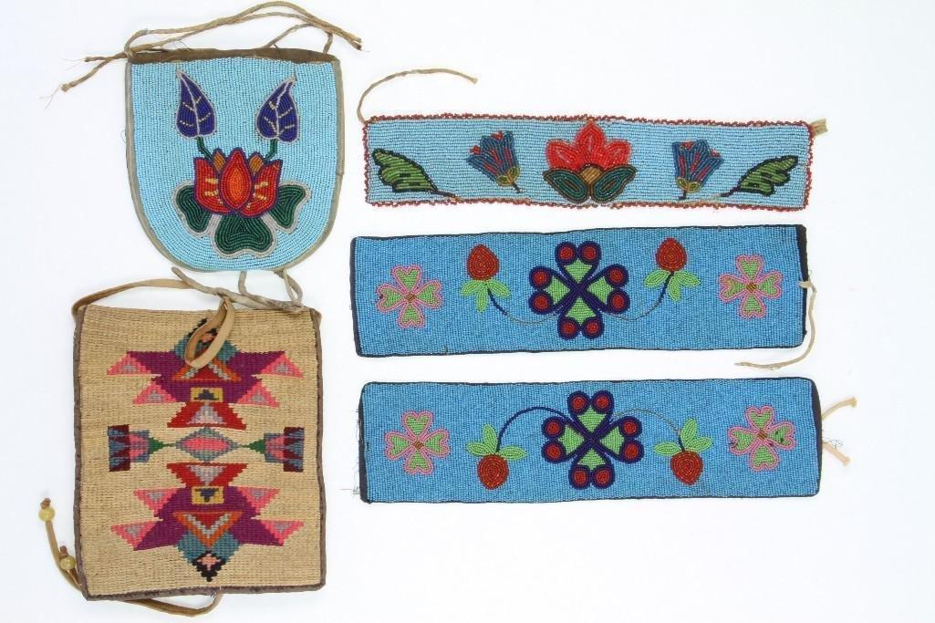 Four Plateau items - 2
