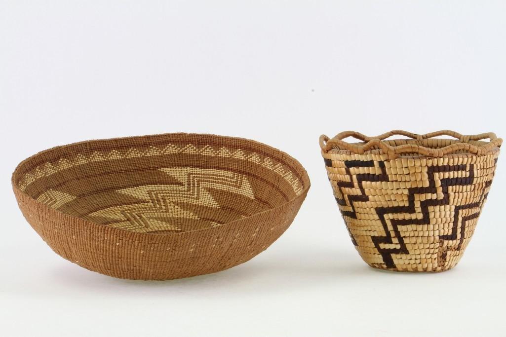 Two Western baskets