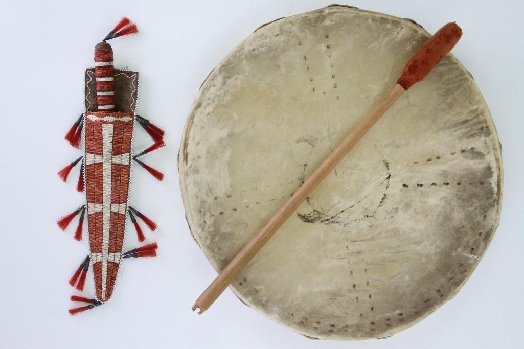 Two Native American-related items