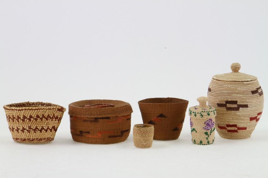Six Northwest baskets - 2