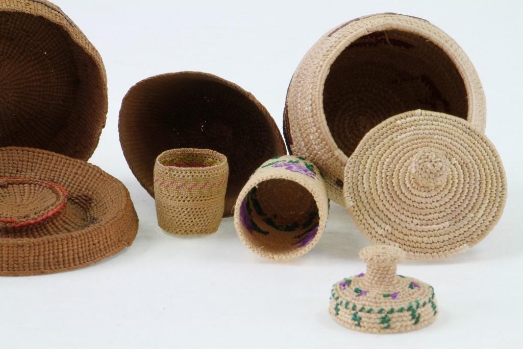 Six Northwest baskets - 5