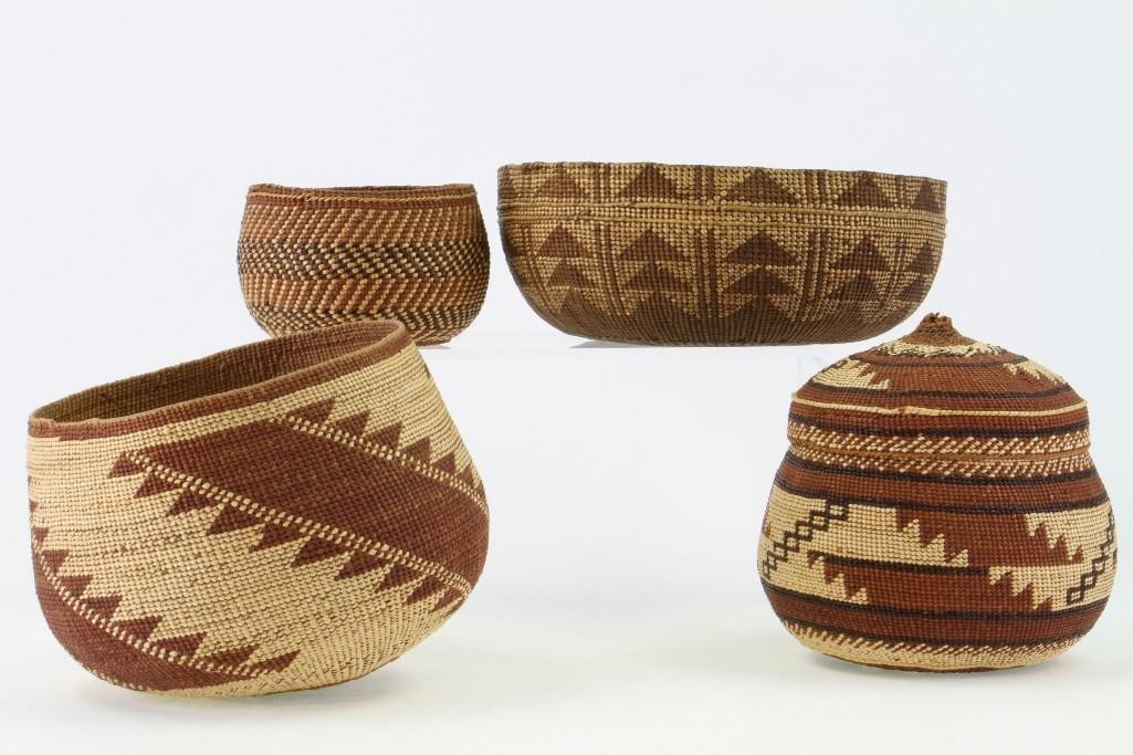 Four Northwest California baskets - 3