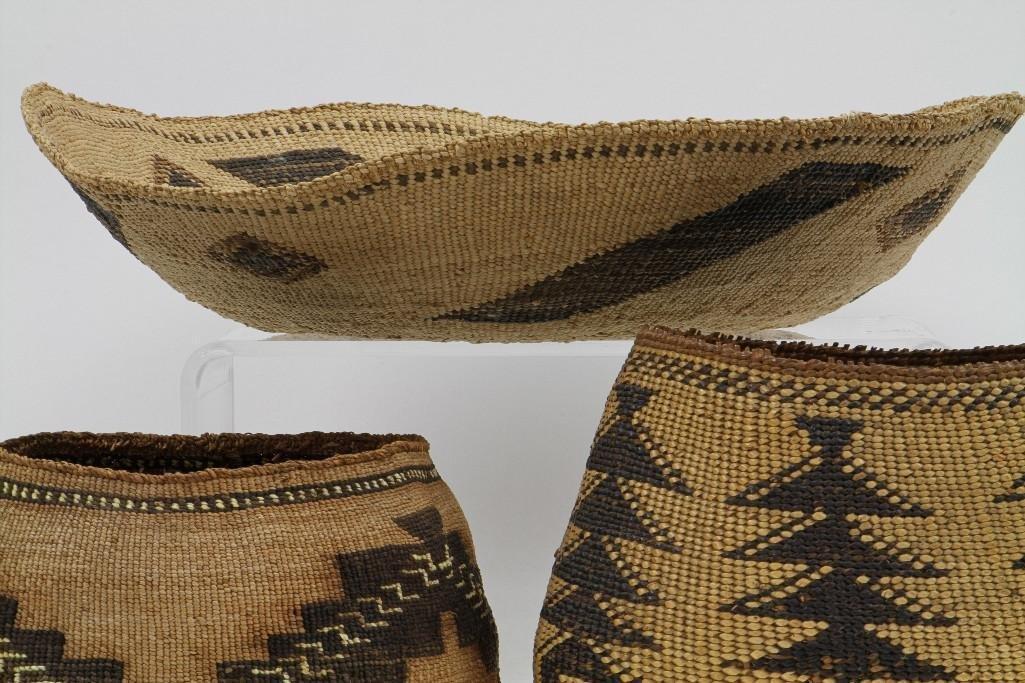 Three Northeast California baskets - 4