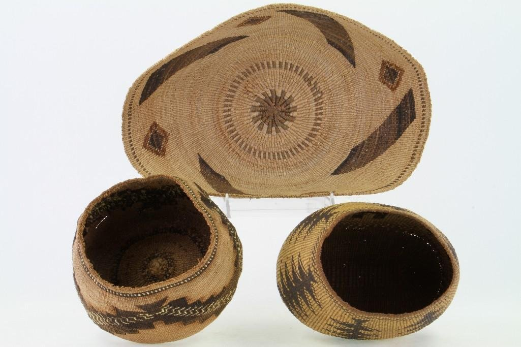 Three Northeast California baskets - 5