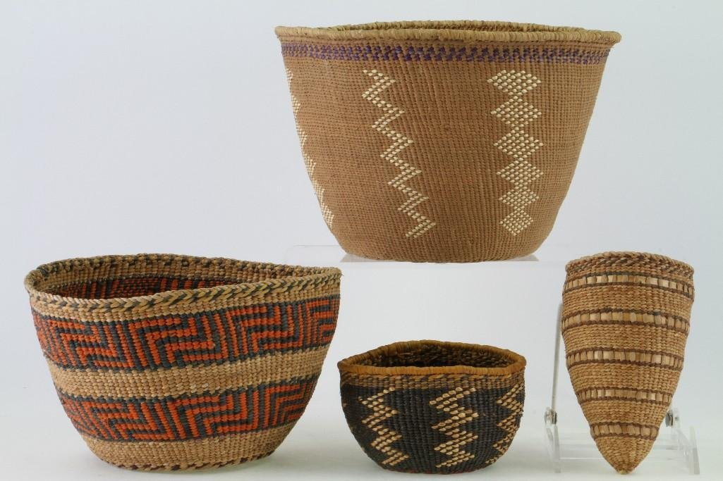 Four Northwest and Columbia River baskets