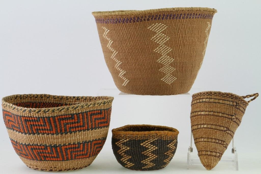 Four Northwest and Columbia River baskets - 2