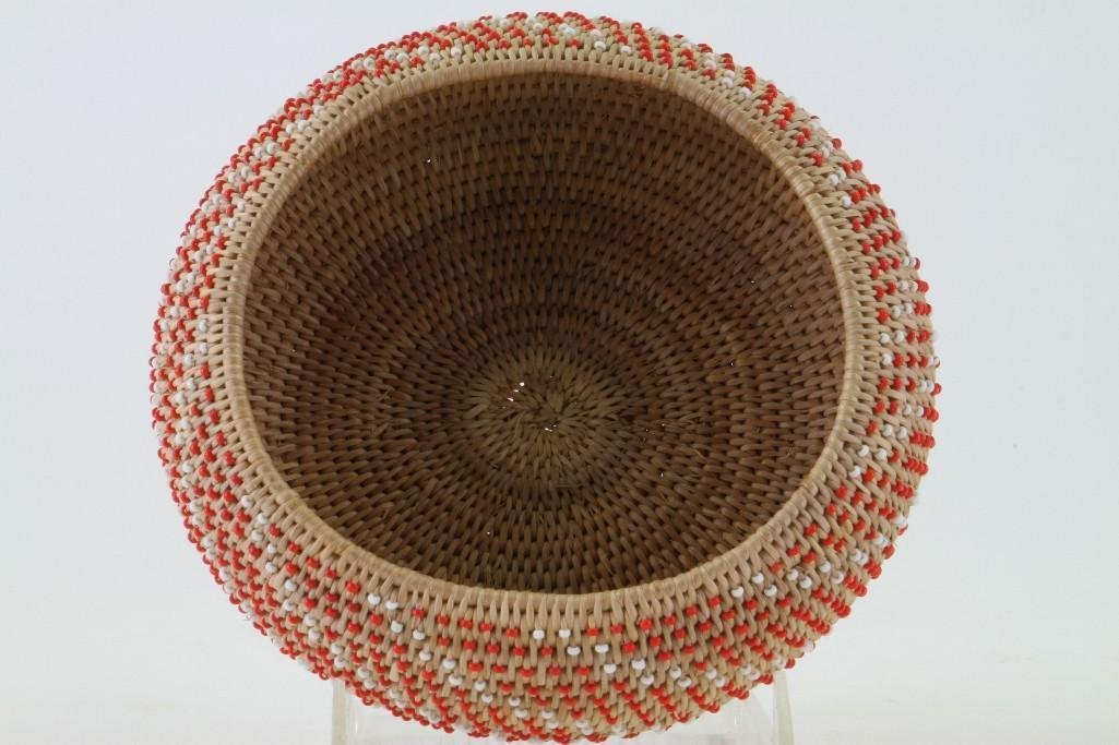 Pomo beaded basket - 6