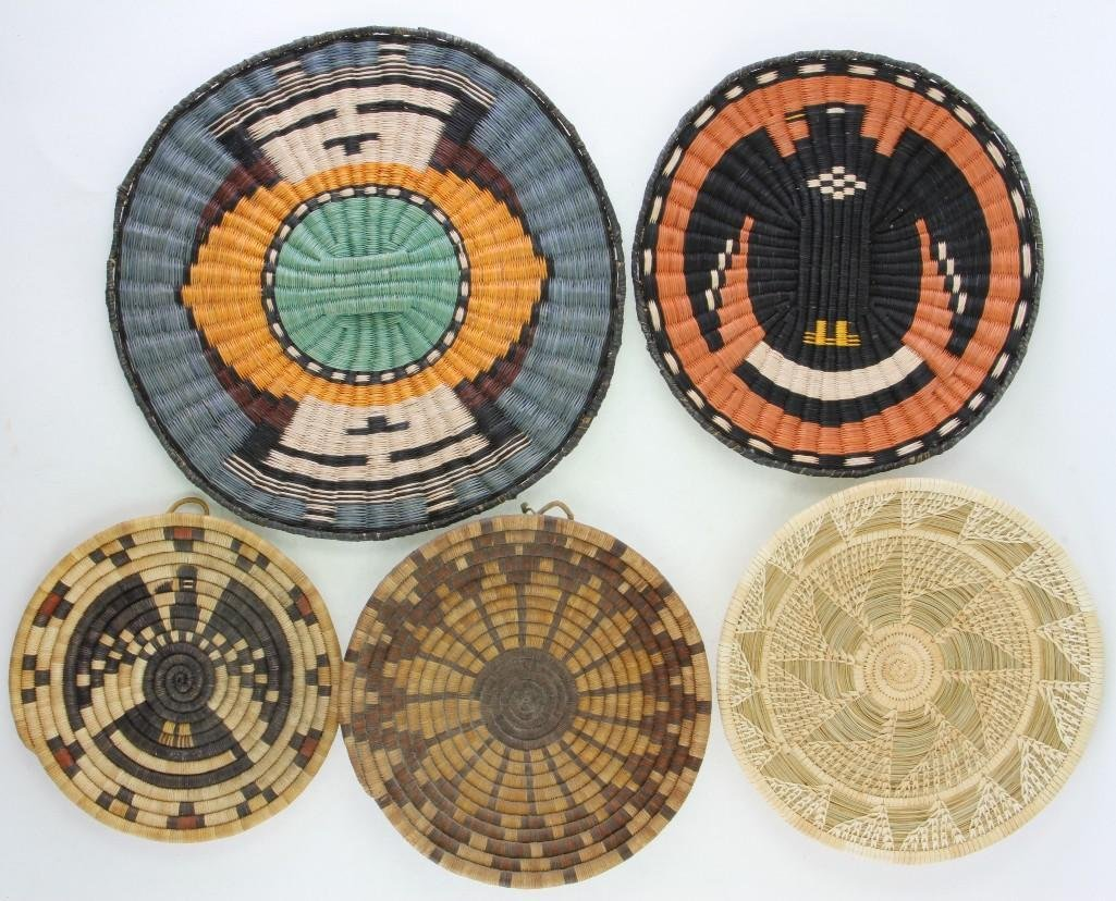 Five Southwest trays