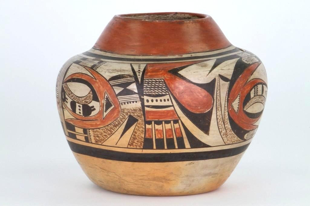 Hopi polychrome jar - 3