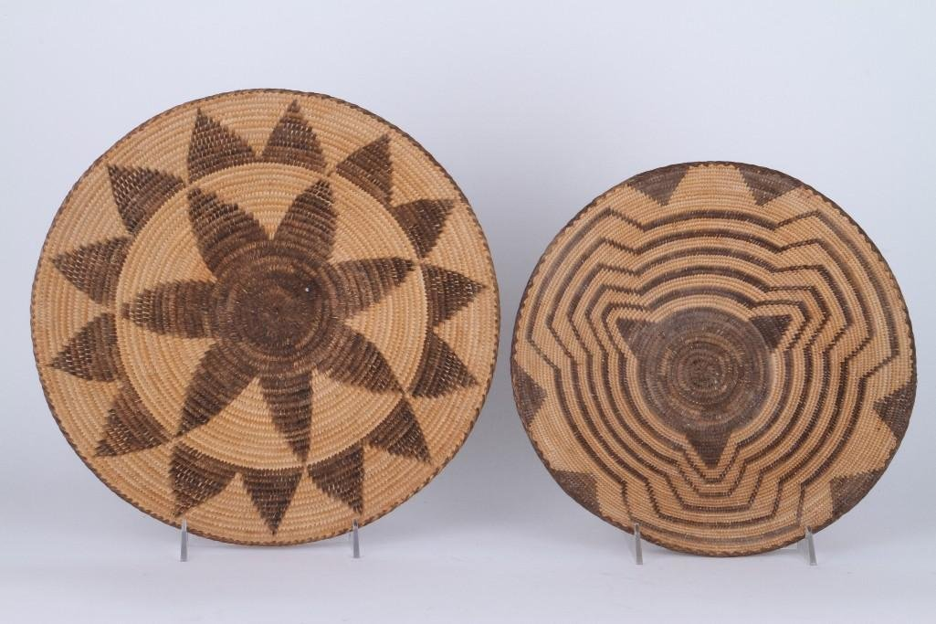 Two Pima trays