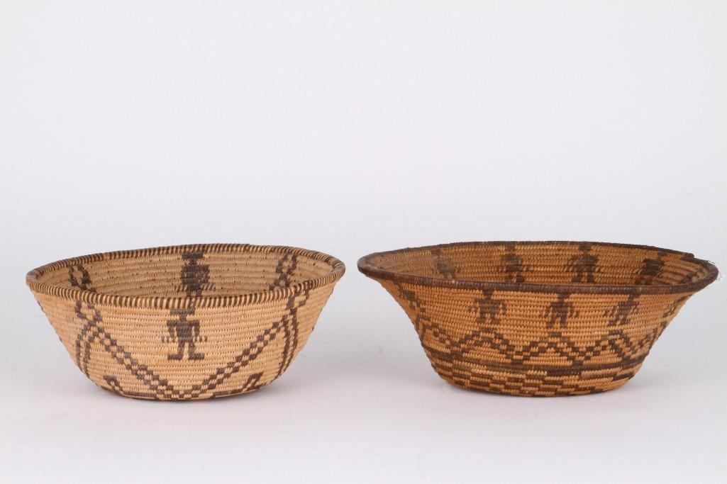 Two Apache baskets - 2