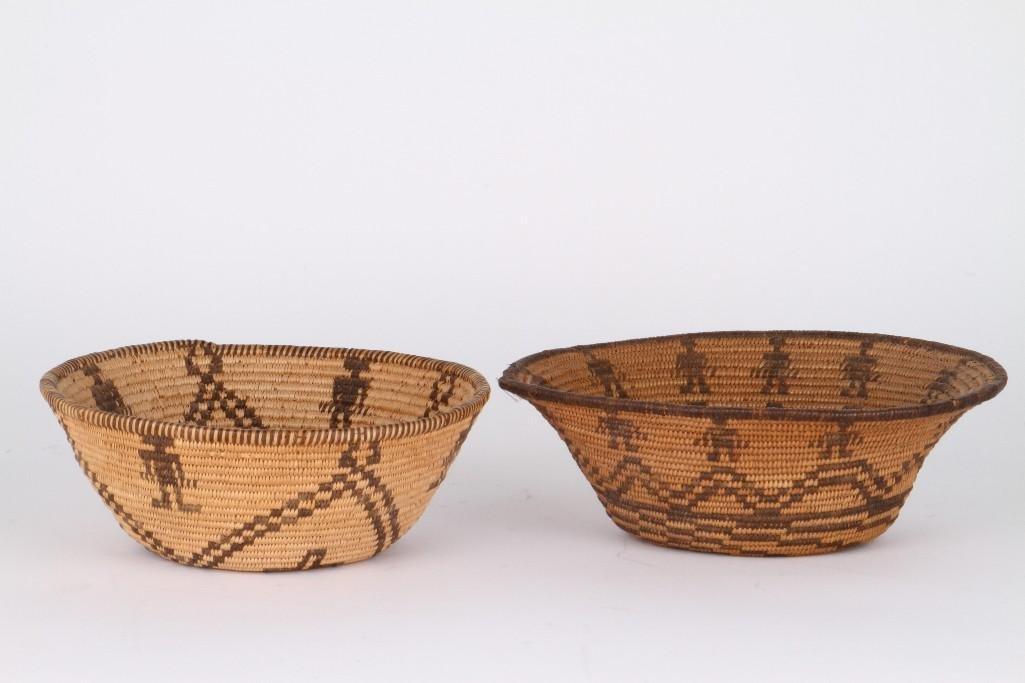 Two Apache baskets - 3