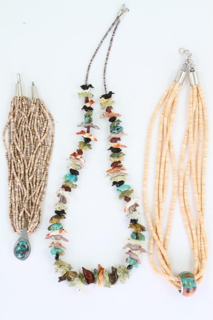 Three Santo Domingo necklaces - 2