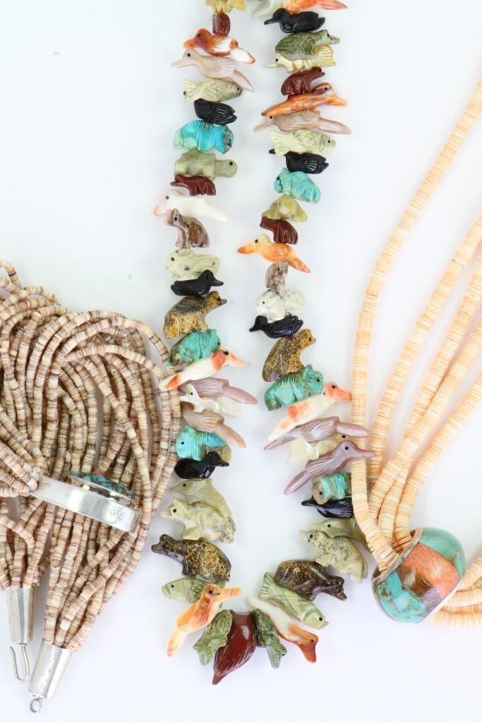 Three Santo Domingo necklaces - 3