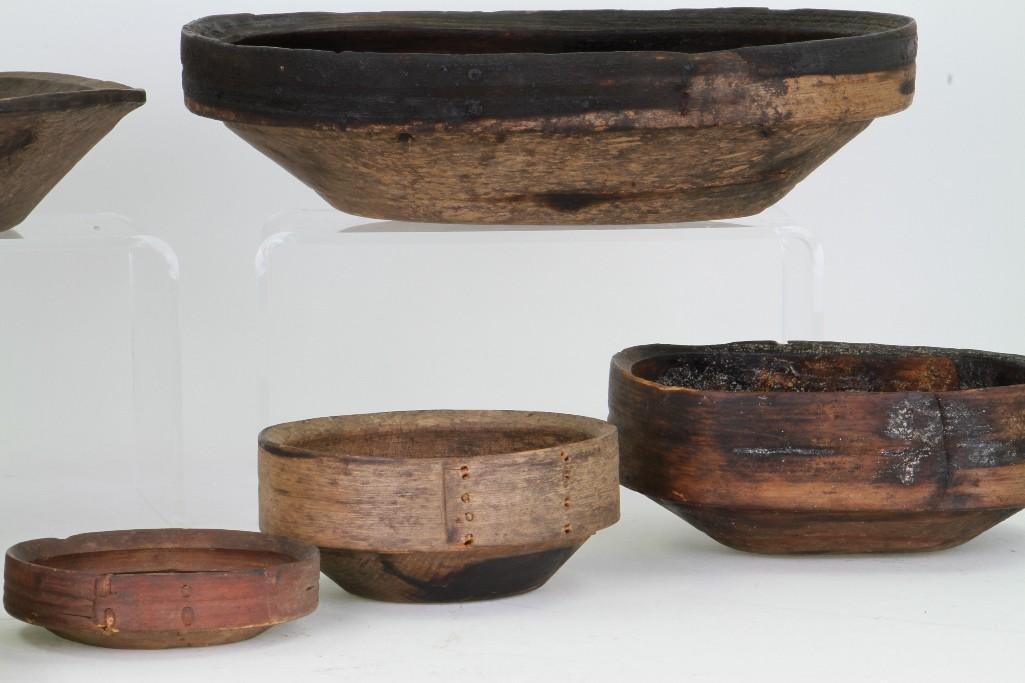 Seven historic Eskimo vessels - 5