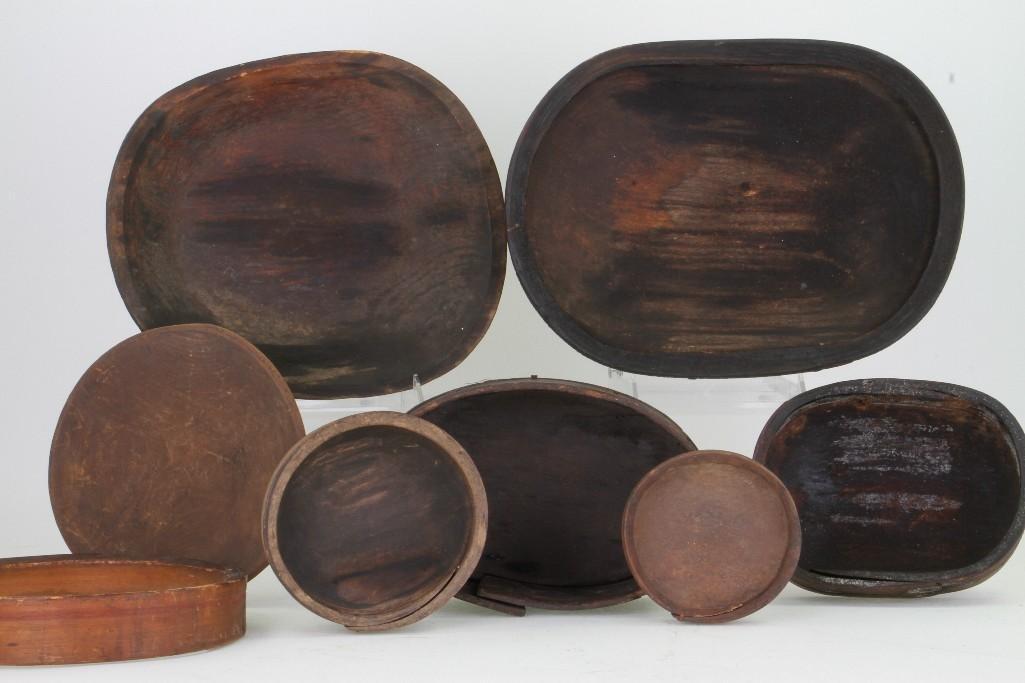 Seven historic Eskimo vessels - 7