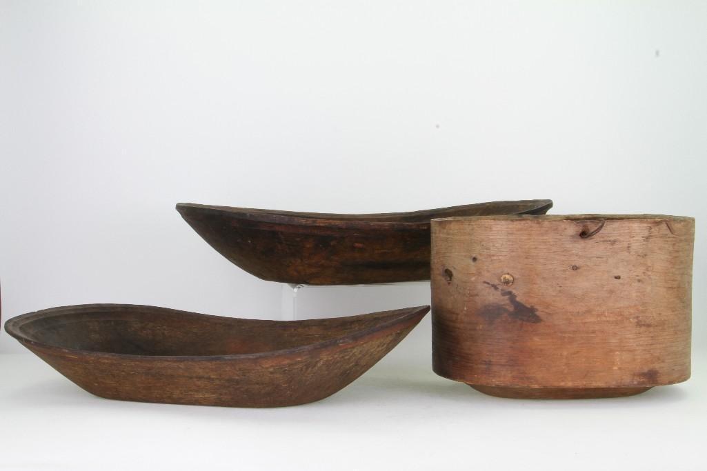 Three historic Eskimo vessels - 2