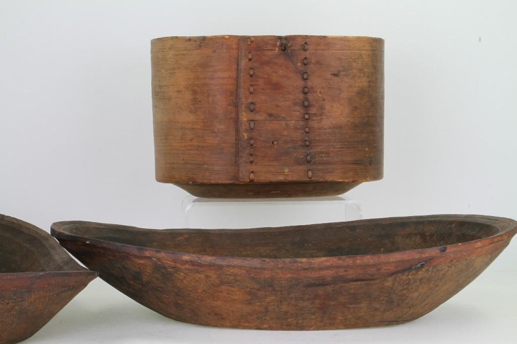 Three historic Eskimo vessels - 4