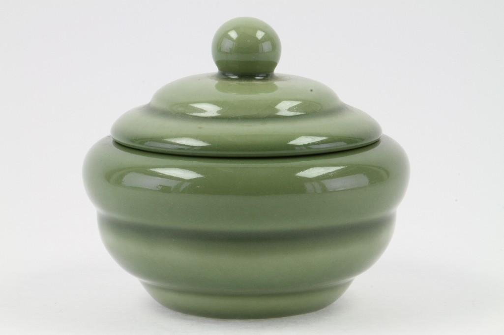 ROOKWOOD POTTERY COVERED BOWL, 1946 - 2