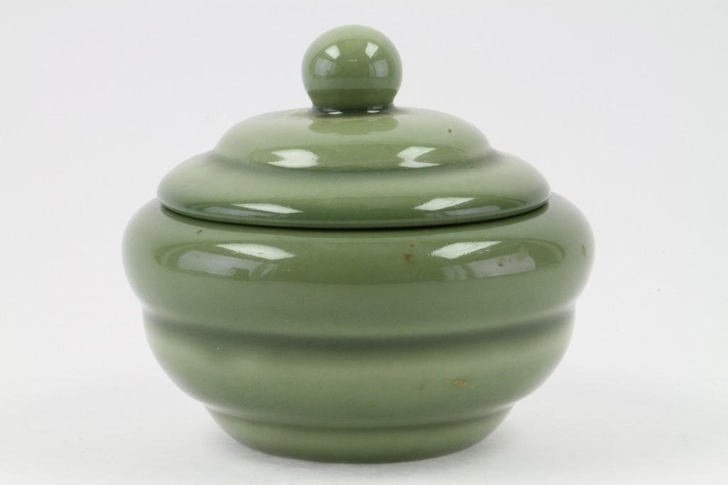ROOKWOOD POTTERY COVERED BOWL, 1946 - 3