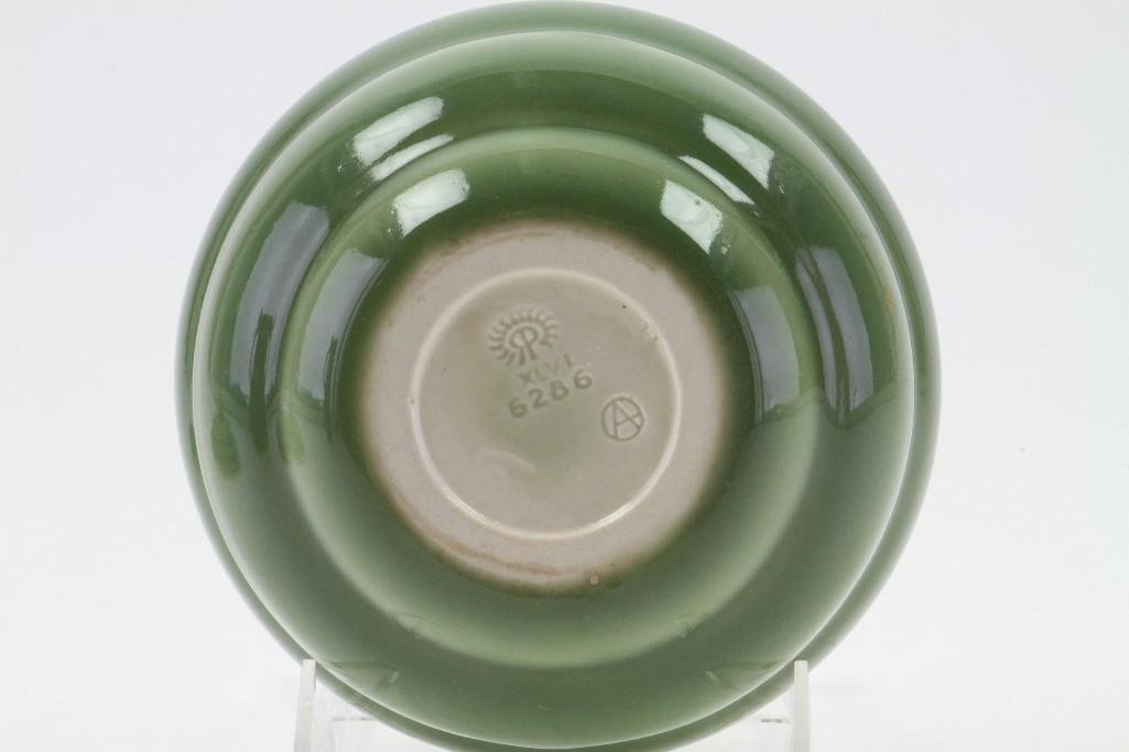ROOKWOOD POTTERY COVERED BOWL, 1946 - 4