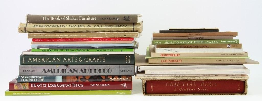 31 VARIOUS ARTS & CRAFTS REFERENCE BOOKS