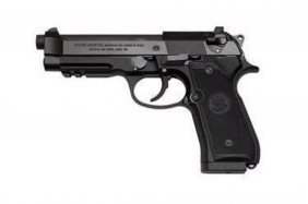 "Beretta 96a1 40 S&w 12+1 4.9"" Pic Rail Includes (3) 12r"
